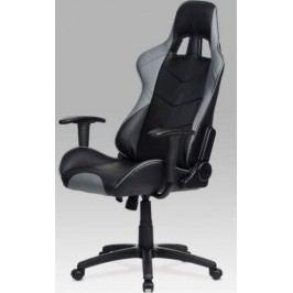 Kancelářská židle KA-N178 RED - červená + kupón KONDELA10 na okamžitou slevu 10% (kupón uplatníte v košíku)