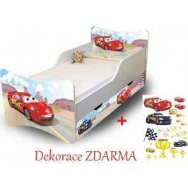 Forclaire Dětská postel Racer Postel s úložným prostorem 200x90cm + kupón KONDELA10 na okamžitou slevu 10% (kupón uplatníte v košíku)