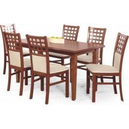 Jídelní stůl Marcel Ořech tmavý + kupón KONDELA10 na okamžitou slevu 10% (kupón uplatníte v košíku)