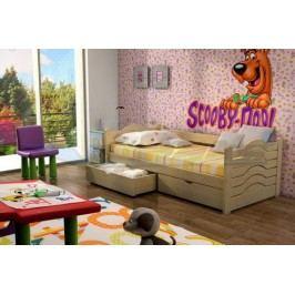 Vomaks Dětská postel DP 004 200 cm x 90 cm Barva bílá + kupón KONDELA10 na okamžitou slevu 10% (kupón uplatníte v košíku)