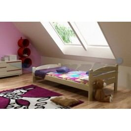 Vomaks Dětská postel DP 008 KOMPLET 200 cm x 90 cm Barva bílá + kupón KONDELA10 na okamžitou slevu 10% (kupón uplatníte v košíku)