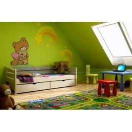 Vomaks Dětská postel DP 010 KOMPLET 200 cm x 90 cm Barva bílá + kupón KONDELA10 na okamžitou slevu 10% (kupón uplatníte v košíku)