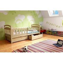 Vomaks Dětská postel DP 014 + zásuvky 200 cm x 90 cm Barva bílá + kupón KONDELA10 na okamžitou slevu 10% (kupón uplatníte v košíku)