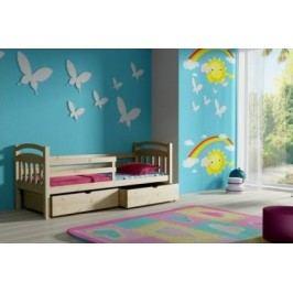 Vomaks Dětská postel DP 015 + zásuvky 200 cm x 90 cm Barva bílá + kupón KONDELA10 na okamžitou slevu 10% (kupón uplatníte v košíku)