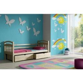 Vomaks Dětská postel DP 016 KOMPLET 200 cm x 90 cm Barva bílá + kupón KONDELA10 na okamžitou slevu 10% (kupón uplatníte v košíku)