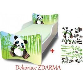 Forclaire Dětská postel Panda postel s úložným prostorem 200x90cm + kupón KONDELA10 na okamžitou slevu 10% (kupón uplatníte v košíku)