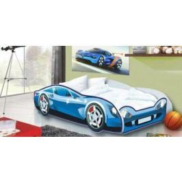 Forclaire Dětská postel Auto Speedy modrý model + kupón KONDELA10 na okamžitou slevu 10% (kupón uplatníte v košíku)