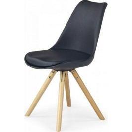 Jídelní židle K201 žlutá + kupón KONDELA10 na okamžitou slevu 10% (kupón uplatníte v košíku)