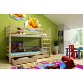 Vomaks Patrová postel PP 008 200 cm x 90 cm Barva bílá + kupón KONDELA10 na okamžitou slevu 10% (kupón uplatníte v košíku)
