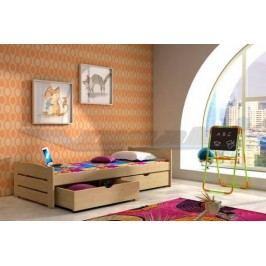 Vomaks Dětská postel DP 009 KOMPLET 200 cm x 90 cm Barva bílá + kupón KONDELA10 na okamžitou slevu 10% (kupón uplatníte v košíku)