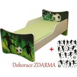 Forclaire Dětská postel Fotbal postel s úložným prostorem 200x90 + kupón KONDELA10 na okamžitou slevu 10% (kupón uplatníte v košíku)
