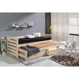 Forclaire Dětská postel s přistýlkou Praktik 200x90cm -Jiné barevné provedení + kupón KONDELA10 na okamžitou slevu 10% (kupón uplatníte v košíku)