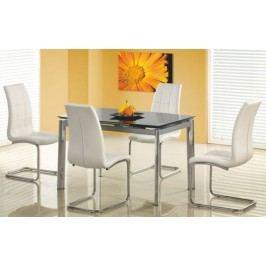 Jídelní stůl Lambert Bílé sklo + kupón KONDELA10 na okamžitou slevu 10% (kupón uplatníte v košíku)