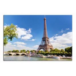 Obraz Eiffelovka a řeka C1010AO