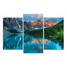Obraz Jezero v horách C5056CO