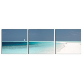Obraz Pláž a plachetnice C5204DP