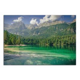 Obraz Zelené jezero a hory C5071AO