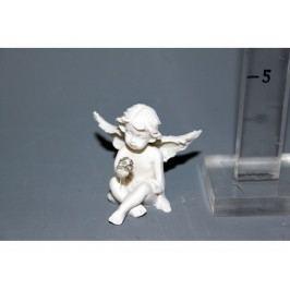Anděl s diamantem 5cm