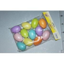Vejce s/12 barevné 6cm