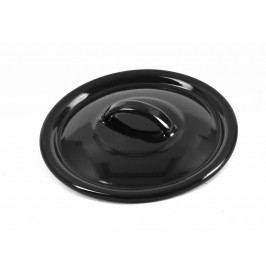 Poklice 18 cm - černý smalt