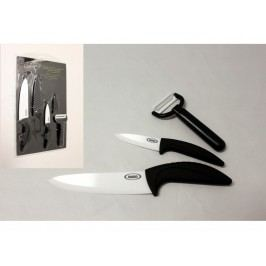 Sada ker.nožů 2ks+škrabka