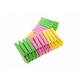 Kolíčky na prádlo 24ks plast