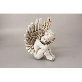 Anděl dekorace 29x19x16cm