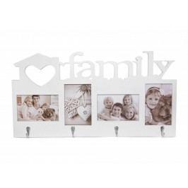 Foto rámeček Family se 4 háčky
