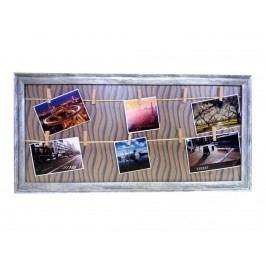 Držák na fotky s kolíky 30x60