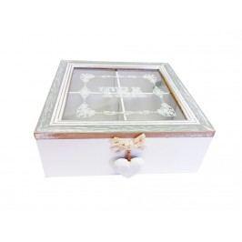 Krabička na čaj čtverec
