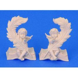 Anděl na knize 9,5cm
