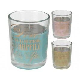 Svíčka vonná ve sklenici