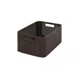 Box úložný Rattan Style2 M hnědý