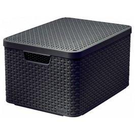 Box style hnědý L DBR210