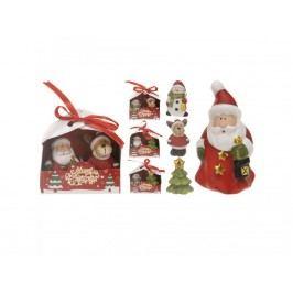 Dekorace vánoční 9cm mix