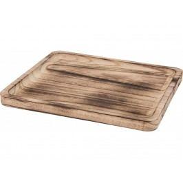 Podnos dřevo 28x23,5cm