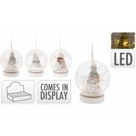 Závěs.snežítko LED