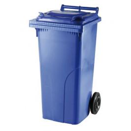 Popelnice plastová 120 l - modrá