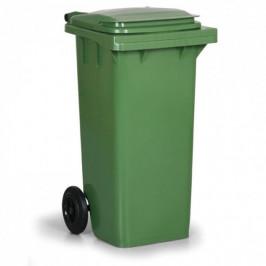 Popelnice plastová 120 l - zelená
