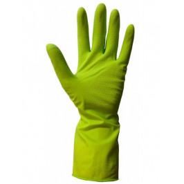 Rukavice FRESH GREEN - latexové - vel. L, 1 pár, zelené