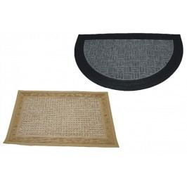 ALLSERVICES Rohožka koberec-guma EXCELENT 40x60 cm -  půlkruh