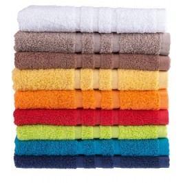 Froté ručník oranžový, 50 x 100 cm, 400 g/m2, praní na 60 C