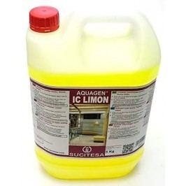 Aquagen IC Limon - prostředek na mytí podlah 5 l 8 ks + 1 ks zdarma
