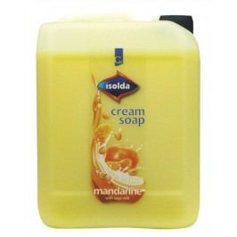 Tekuté mýdlo 5 l ISOLDA mandarinka se sojovým mlékem
