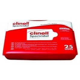 Speciální dezinfekční utěrky CLINELL SPORICIDAL 25 ks