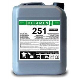 CLEAMEN 251 ruční mytí nádobí koncentrát bez parfémů a barviv 5 l