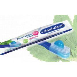 Jednorázový zubní kartáček a pasta v jednom - FlashDent, 100 kusů