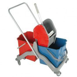 Úklidový vozík plastový 2 x 20 l