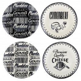 Creative Tops Dezertní talíře | Gourmet Cheese | sada 4ks ID5163882