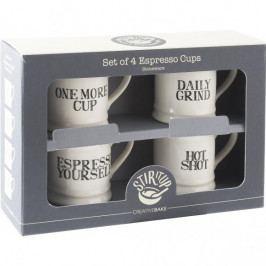 Creative Tops Hrnky na espresso | Stir It Up | 60ml | sada 4ks ID5174402